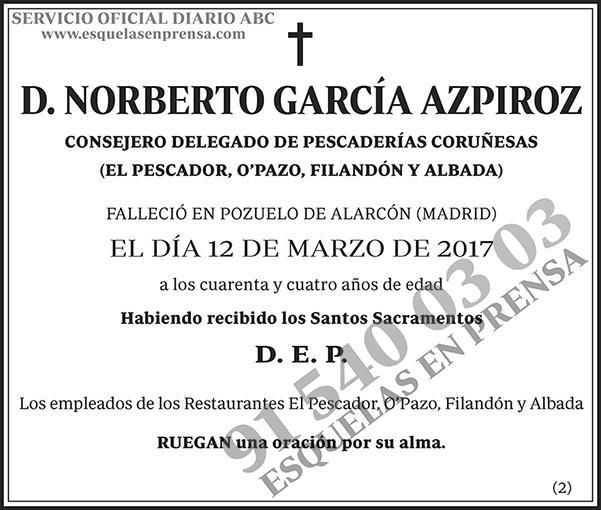 Norberto García Azpiroz